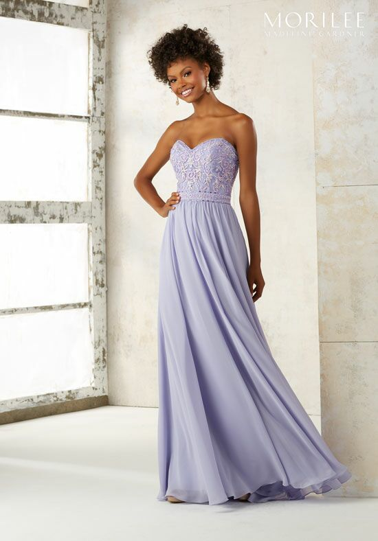 Morilee by Madeline Gardner Bridesmaids 21501 Strapless Bridesmaid Dress