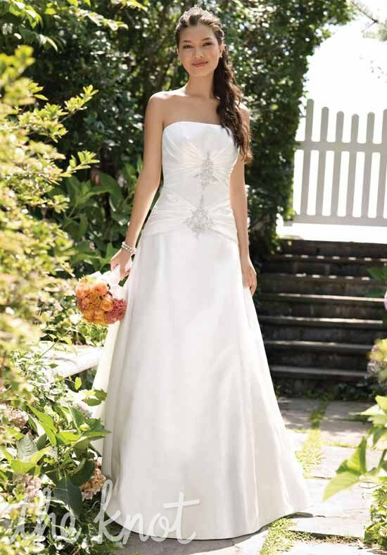 Alfred Angelo Signature Bridal Collection 2003 A Line Wedding Dress