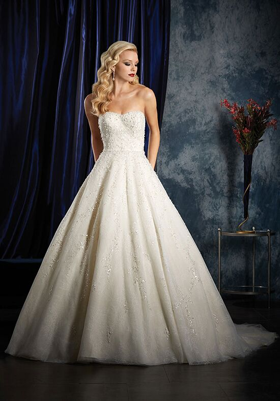 Alfred Angelo Sapphire Bridal Collection 995 Ball Gown Wedding Dress