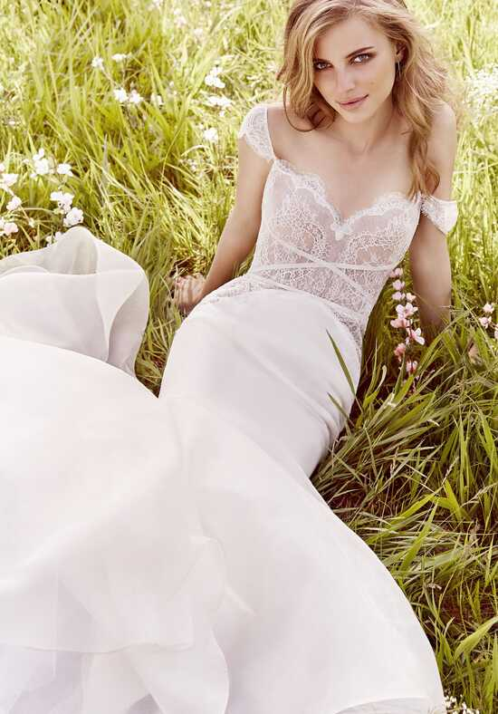 Jim Hjelm 8663 Mermaid Wedding Dress