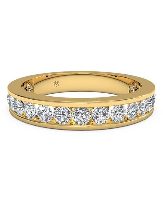 Ritani Women's Channel-Set Diamond Eternity Wedding Ring - in 18kt Yellow Gold - (1.05 CTW) Gold Wedding Ring