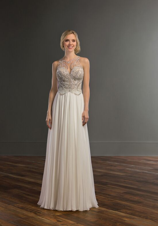 Martina Liana 983 A-Line Wedding Dress