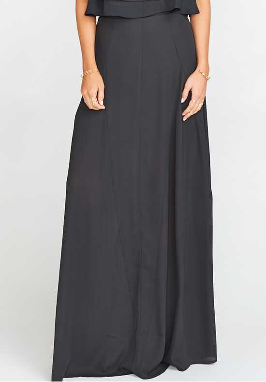 Show Me Your Mumu Princess Di Ballgown - Black Crisp Square Bridesmaid Dress