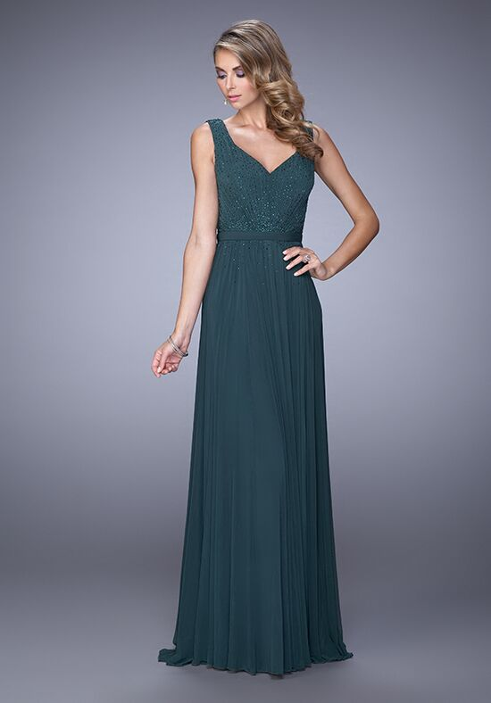 La Femme Evening 21624 Green Mother Of The Bride Dress