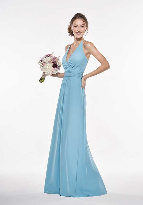 JASMINE P196008 Halter Bridesmaid Dress