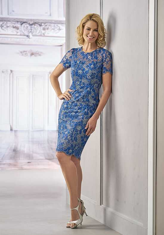 Jasmine Black Label M190008 Blue Mother Of The Bride Dress