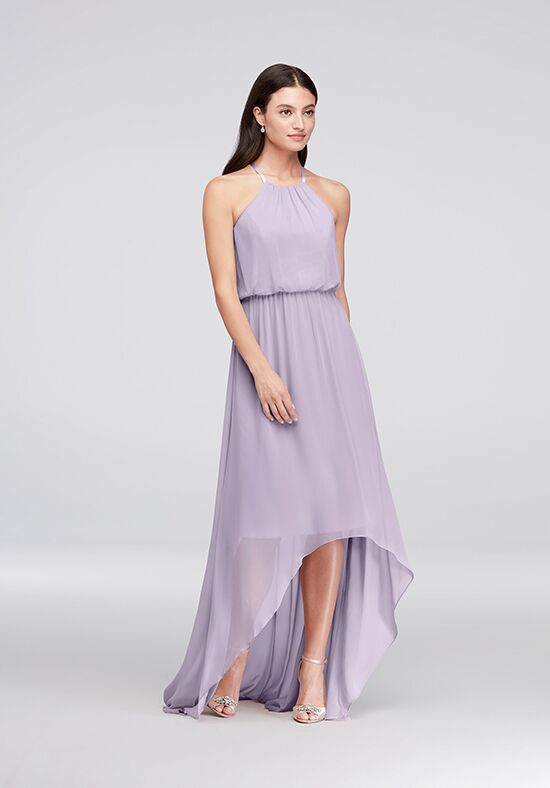 David's Bridal Collection David's Bridal Style F19740 Halter Bridesmaid Dress