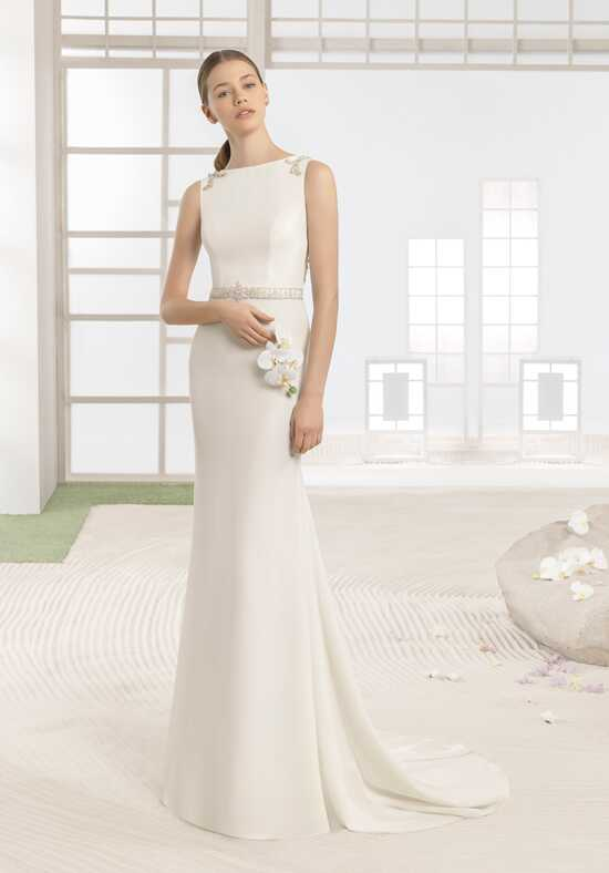 Soft by Rosa Clará Waskar Sheath Wedding Dress