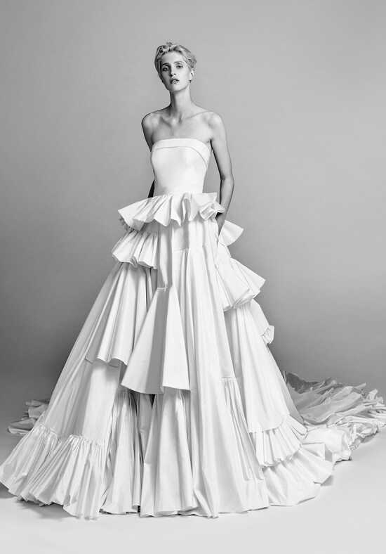 "Viktor&Rolf Mariage Asymmetric ""Diana"" gown Ball Gown Wedding Dress"