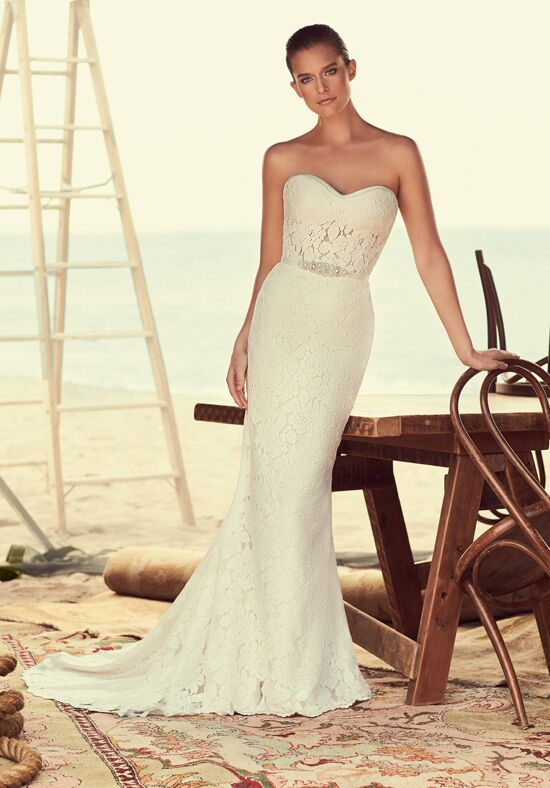 Mikaella 2182 Sheath Wedding Dress