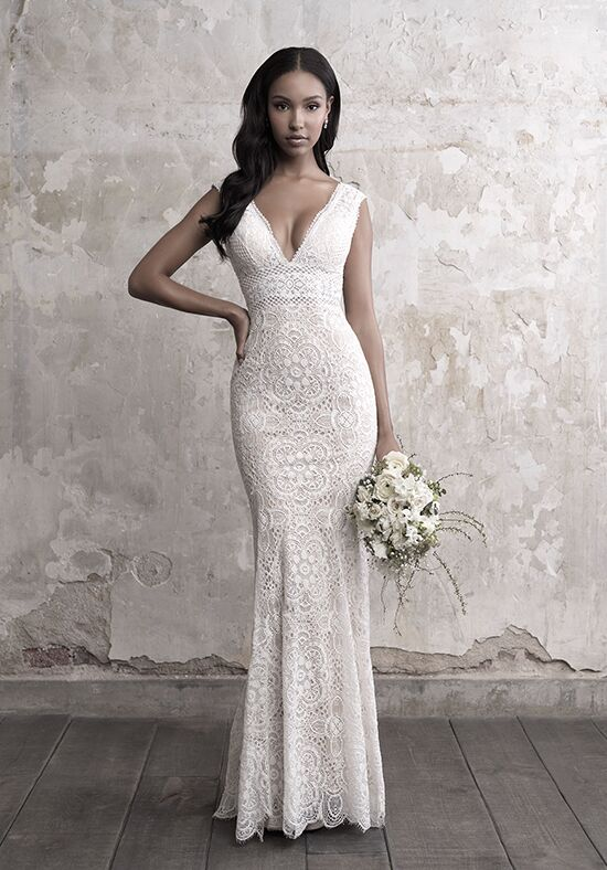 Madison James MJ450 Sheath Wedding Dress