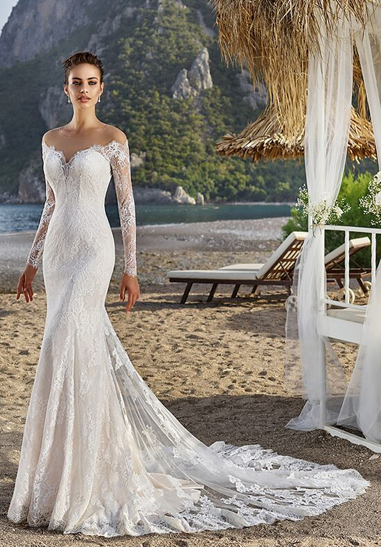 Eddy K Bali Sheath Wedding Dress