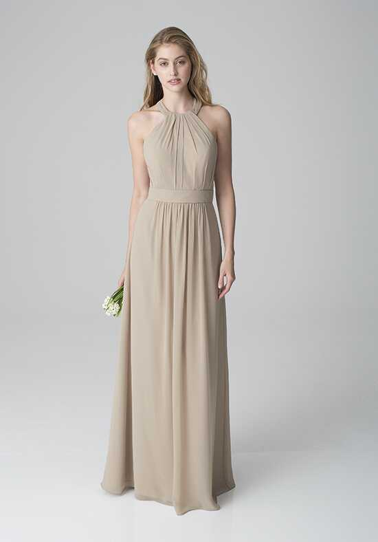 Bill Levkoff 1272 Halter Bridesmaid Dress