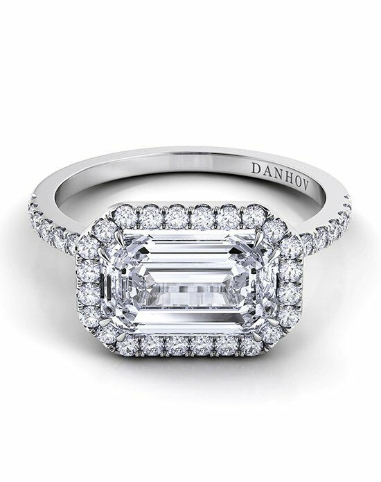 Danhov Marquise Cut Engagement Ring