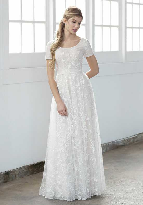 Modest by Mon Cheri TR21862 A-Line Wedding Dress