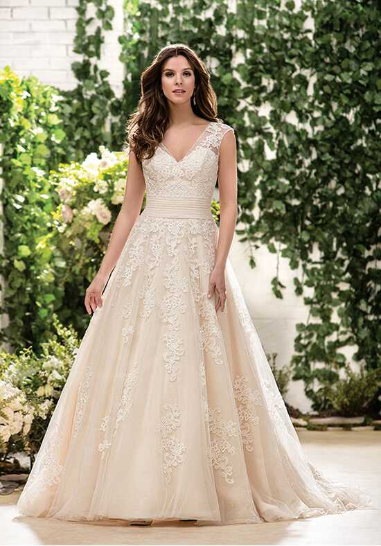 Jasmine Collection F181063 Ball Gown Wedding Dress