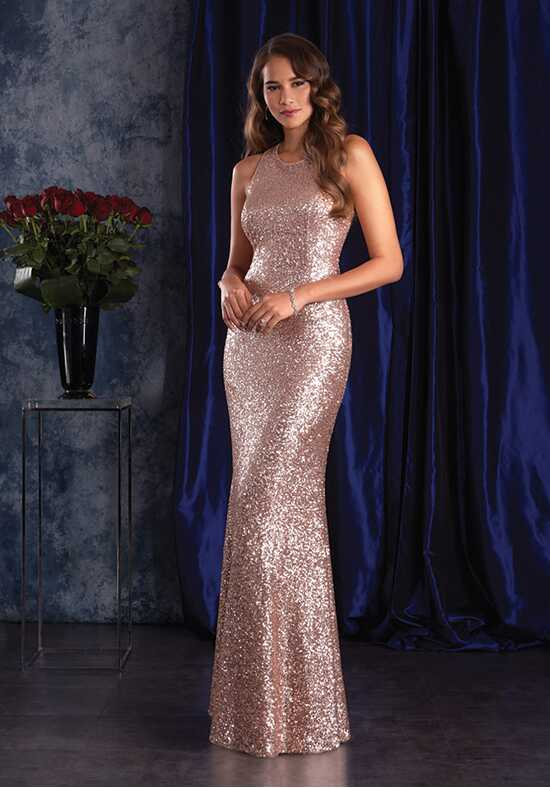 Alfred Angelo Sapphire Bridesmaid Collection 8129 Halter Bridesmaid Dress