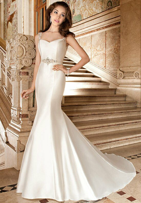 Demetrios 3228 Mermaid Wedding Dress