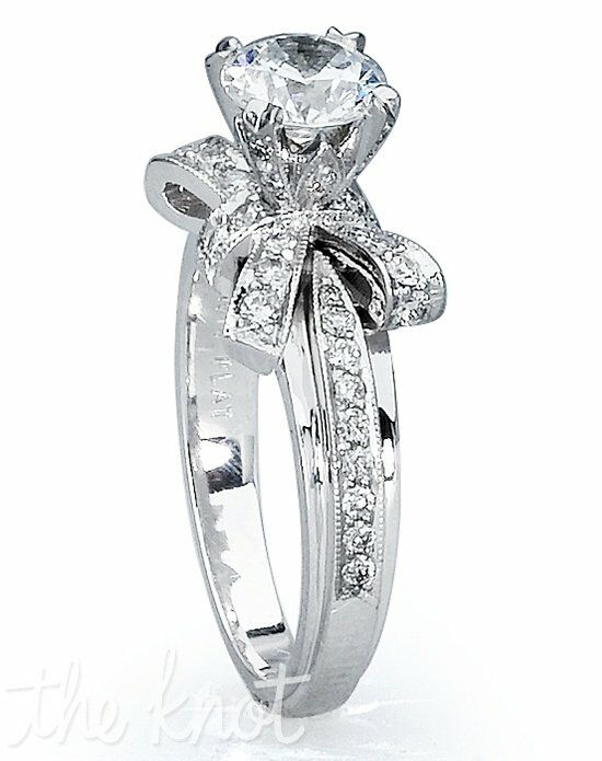 TRUE KNOTS TRUE WOMAN - K3064 Platinum, White Gold Wedding Ring