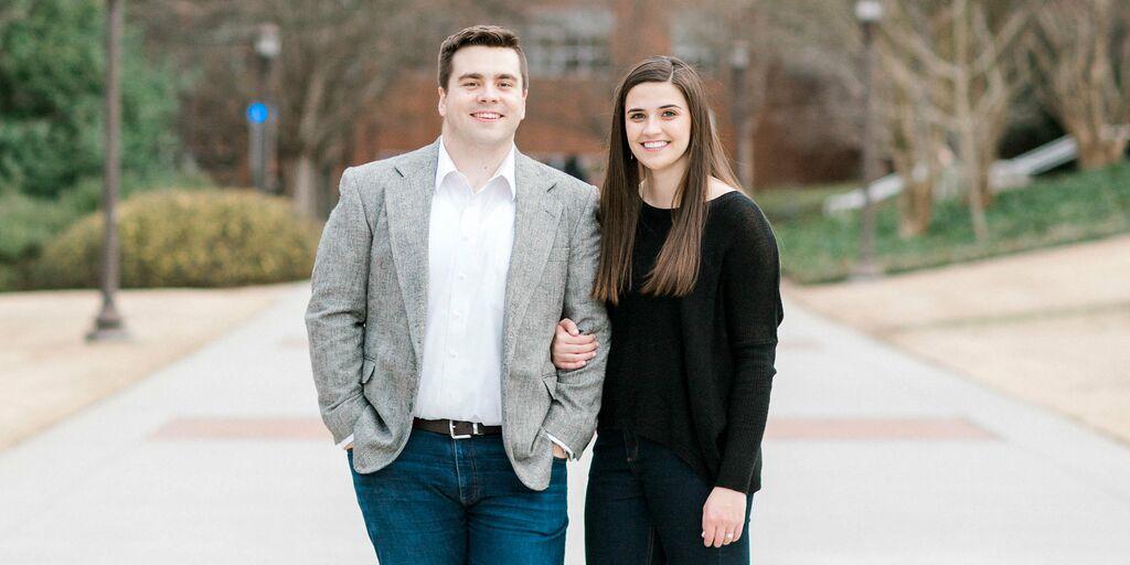 Leah Ward and John Foster's Wedding Website