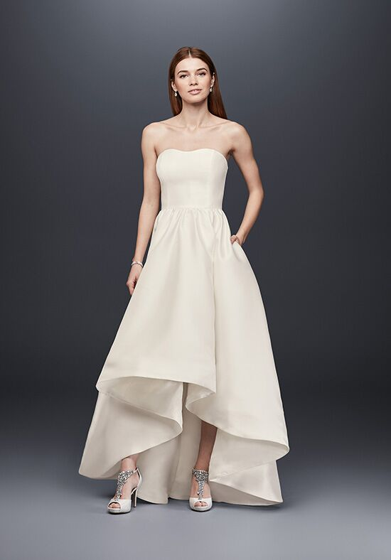 David's Bridal David's Bridal Collection Style SDWG0576 A-Line Wedding Dress