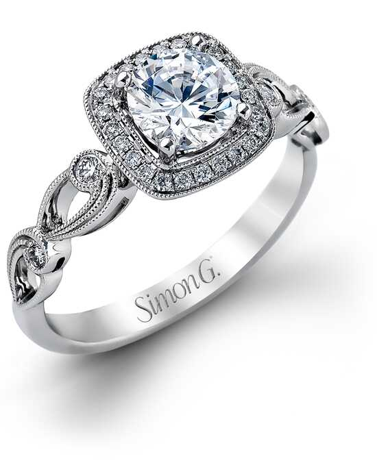 Simon G. Jewelry TR526 Engagement Ring photo