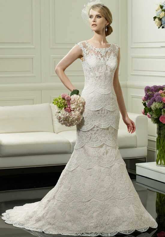 Moonlight Couture H1249 Mermaid Wedding Dress