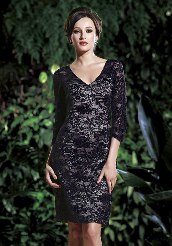 Jasmine Black Label M160011 Black Mother Of The Bride Dress