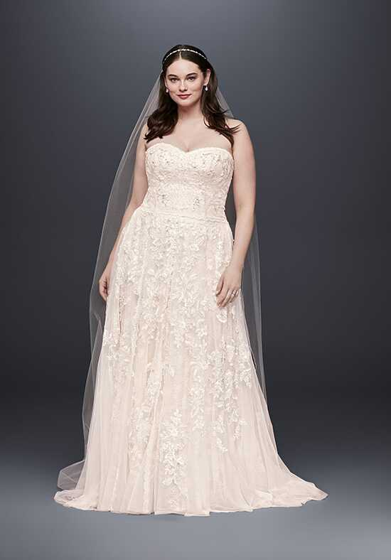 Melissa Sweet for David's Bridal Melissa Sweet Style 8MS251174 A-Line Wedding Dress