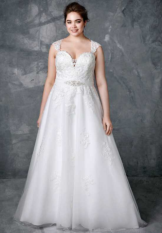 Femme by Kenneth Winston 3410 A-Line Wedding Dress