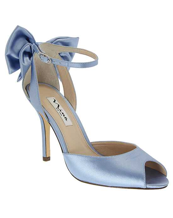 Nina Bridal Wedding Accessories Mileena_Blue Blue Shoe