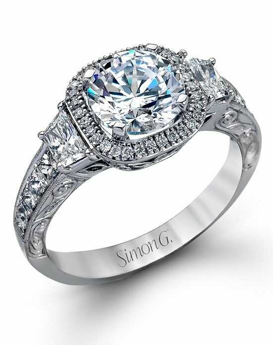 Simon G. Jewelry MR2404 Engagement Ring photo