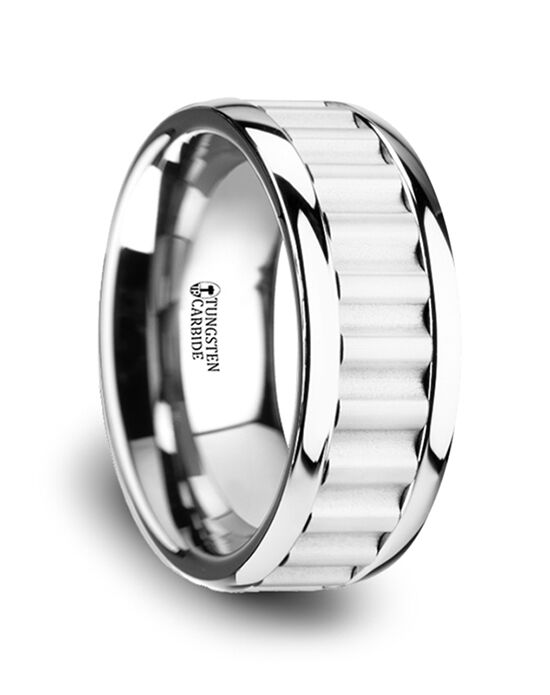 Mens Tungsten Wedding Bands W3762-TCCI Tungsten Wedding Ring