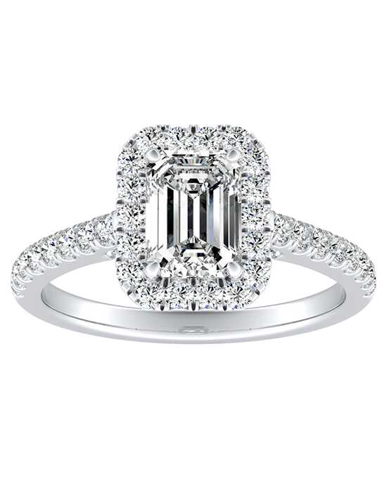 DiamondWish.com Classic Princess, Asscher, Cushion, Emerald, Marquise, Pear, Round Cut Engagement Ring