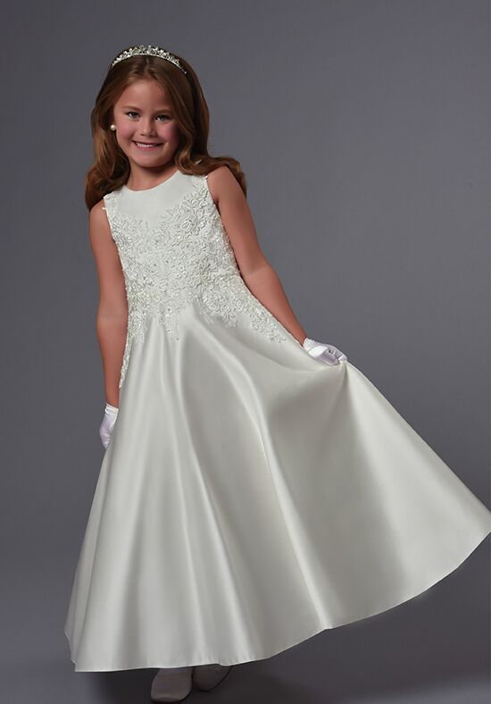Cupids by Mary's F555 Ivory Flower Girl Dress