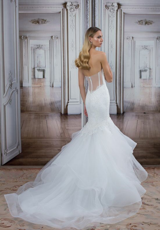 Love by pnina tornai for kleinfeld 14489 wedding dress for Pnina tornai wedding dress cost