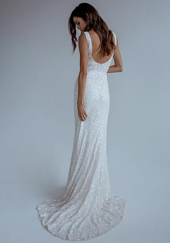 KAREN WILLIS HOLMES Antoinette Mermaid Wedding Dress