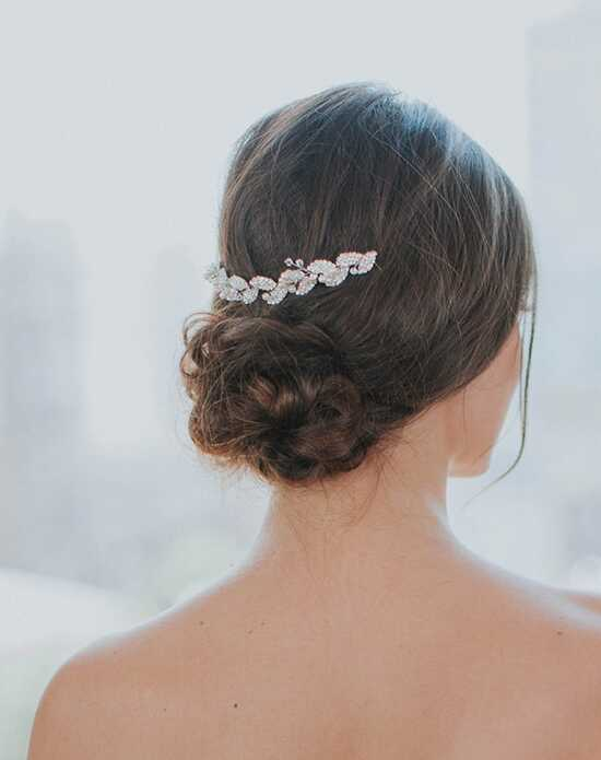 Davie & Chiyo | Hair Accessories & Veils Petite Gilded Ava Hair Vine Gold, Pink, Silver Pins, Combs + Clip