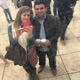 Rachel Riley And Sukhpreet Multani Wedding Photo 1