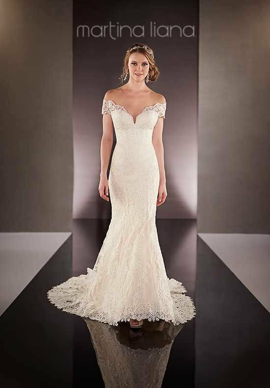 Martina Liana 726 Mermaid Wedding Dress
