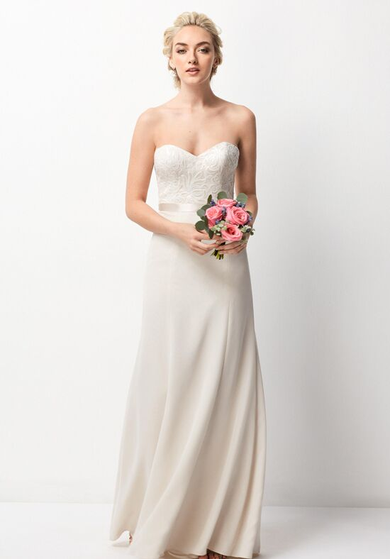 Wtoo Maids 253 Strapless Bridesmaid Dress