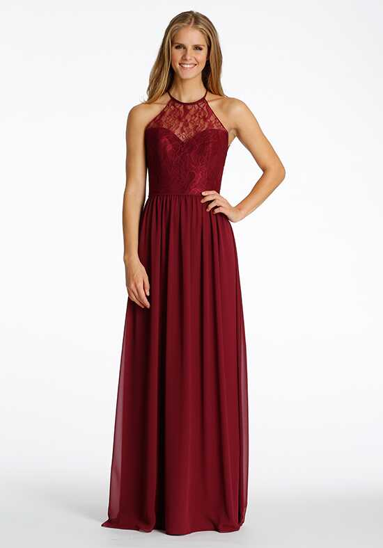 Hayley Paige Occasions 5613 Halter Bridesmaid Dress