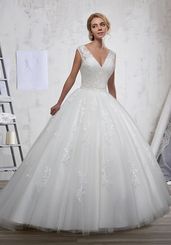 1 Wedding by Mary's Bridal 6589 Ball Gown Wedding Dress