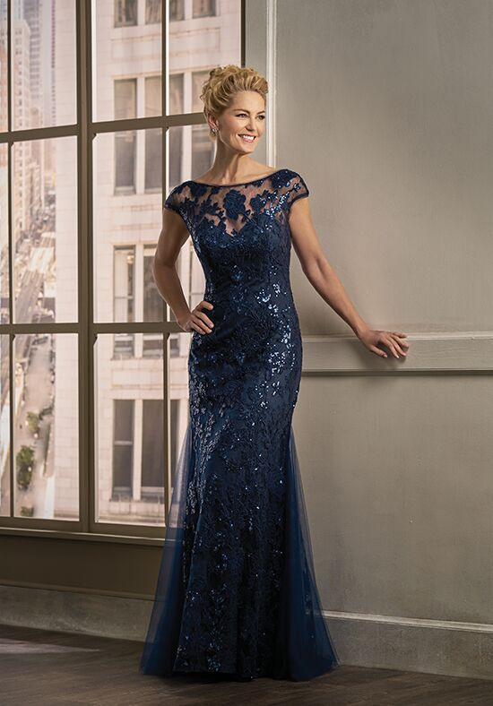 Jade Couture K198011 Blue Mother Of The Bride Dress