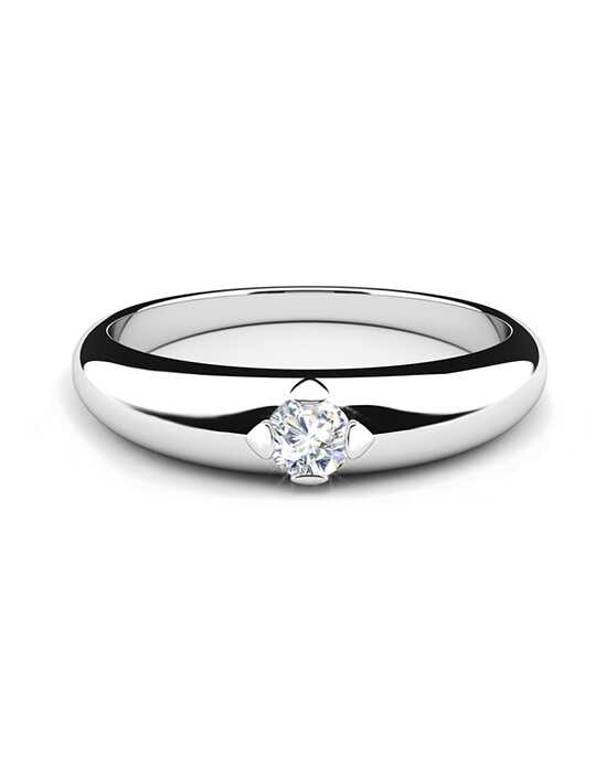 Forevermark Diamonds FSRDLA1R-1 White Gold Wedding Ring