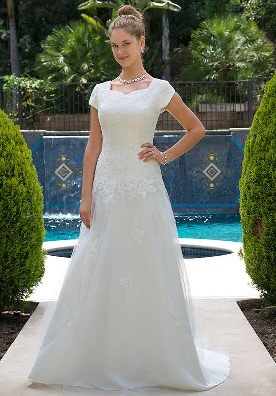 Venus Modest TB7756 Mermaid Wedding Dress