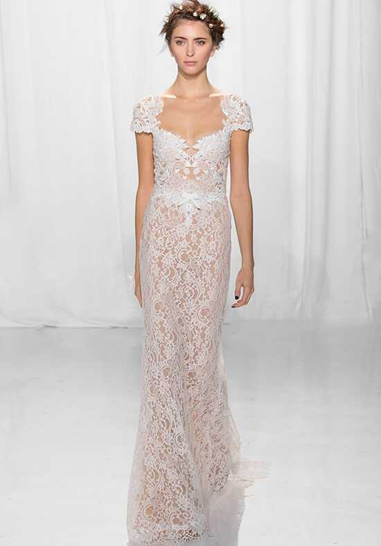 Reem Acra 5624 Sheath Wedding Dress