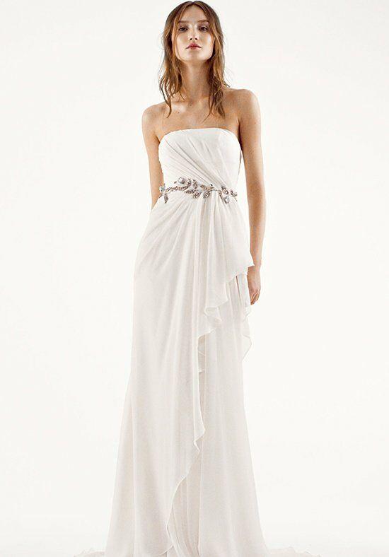 White By Vera Vw351234 Sheath Wedding Dress