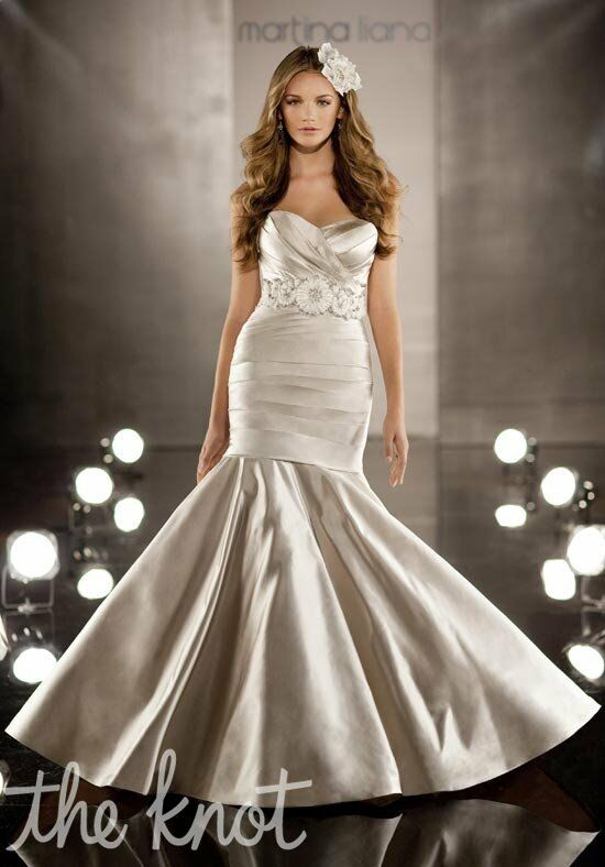 Martina Liana 374 Mermaid Wedding Dress
