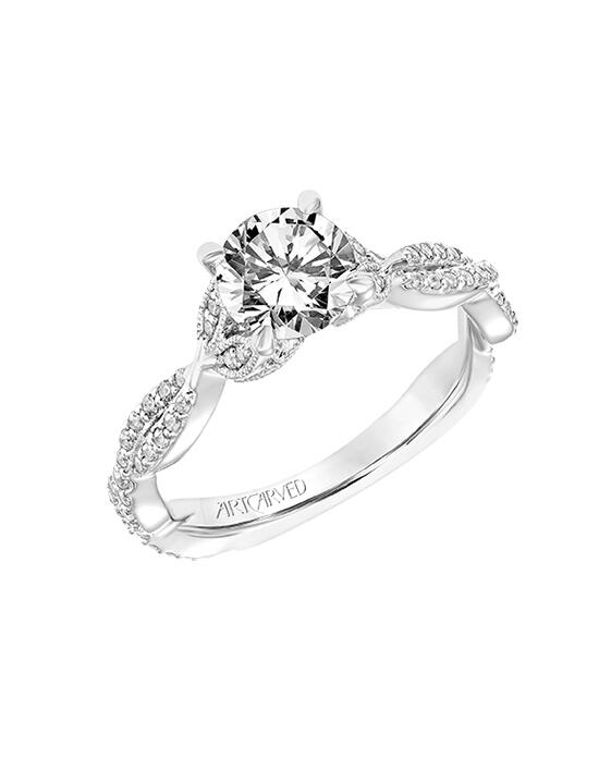 ArtCarved 31-V774ERW Engagement Ring photo